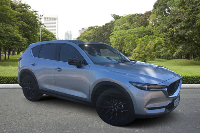 Demo Mazda CX-5 KF4WLA GT SKYACTIV-Drive i-ACTIV AWD SP Paradise, 2021 Mazda CX-5 KF4WLA GT SKYACTIV-Drive i-ACTIV AWD SP Sonic Silver 6 Speed Sports Automatic Wagon
