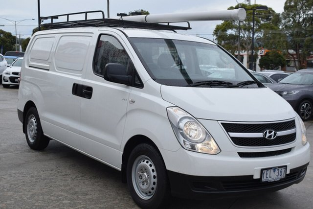 Used Hyundai iLOAD TQ-V Ferntree Gully, 2011 Hyundai iLOAD TQ-V White 5 Speed Manual Van