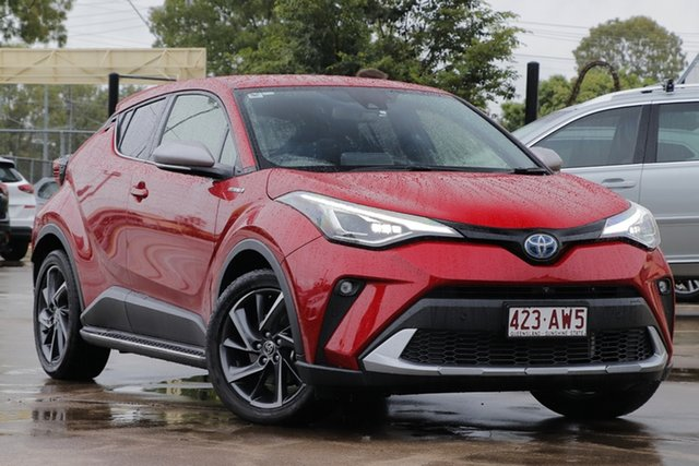 Used Toyota C-HR ZYX10R Koba E-CVT 2WD Bundamba, 2019 Toyota C-HR ZYX10R Koba E-CVT 2WD Red 7 Speed Constant Variable Wagon Hybrid