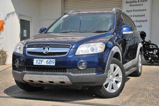 2010 Holden Captiva CG MY10 LX (4x4) Blue 5 Speed Automatic Wagon.