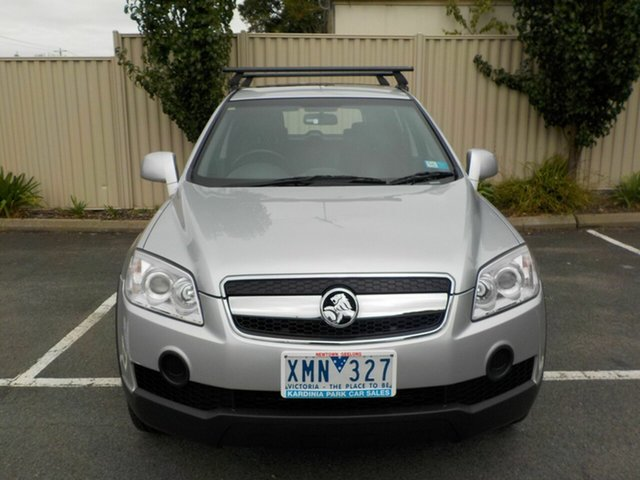 Used Holden Captiva CG MY09 SX (4x4) Newtown, 2009 Holden Captiva CG MY09 SX (4x4) Silver 5 Speed Automatic Wagon