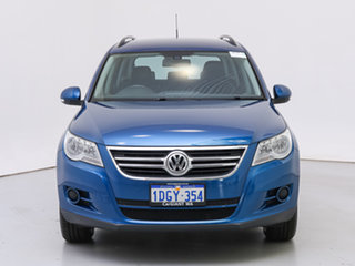 2010 Volkswagen Tiguan 5NC MY10 103 TDI Blue 6 Speed Tiptronic Wagon.