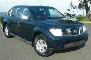 2008 Nissan Navara D40 ST-X 4x2 Blue 6 Speed Manual Utility.