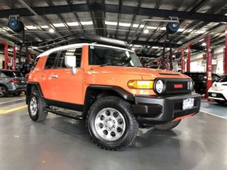 2012 Toyota FJ Cruiser GSJ15R Orange Clay 5 Speed Automatic Wagon
