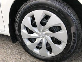 2014 Toyota Corolla ZRE182R Ascent Glacier White 7 Speed CVT Auto Sequential Hatchback