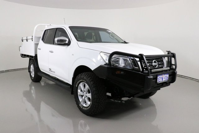 Used Nissan Navara NP300 D23 RX (4x4) Bentley, 2015 Nissan Navara NP300 D23 RX (4x4) White 6 Speed Manual Double Cab Chassis