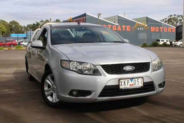 Used Ford Falcon FG R6 (LPG) West Footscray, 2009 Ford Falcon FG R6 (LPG) Silver 4 Speed Auto Seq Sportshift Utility