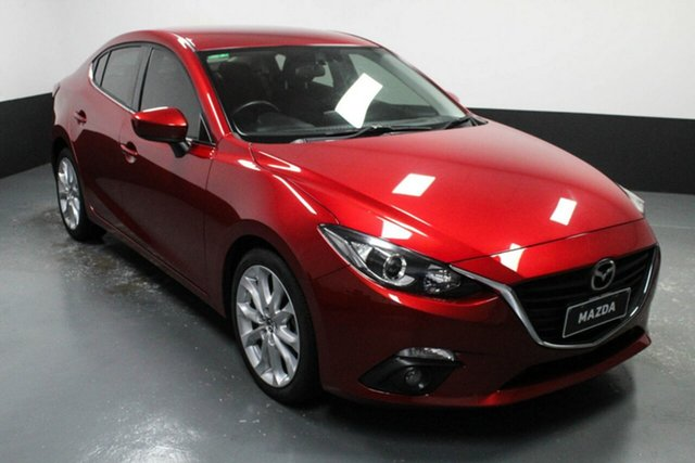 Used Mazda 3 BM5238 SP25 SKYACTIV-Drive Hamilton, 2016 Mazda 3 BM5238 SP25 SKYACTIV-Drive Red 6 Speed Sports Automatic Sedan