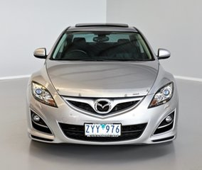 2010 Mazda 6 GH1052 MY10 Luxury Silver 5 Speed Sports Automatic Sedan.