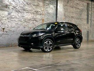2015 Honda HR-V MY15 VTi-L Black 1 Speed Constant Variable Hatchback.