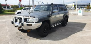 2007 Nissan Patrol GU 6 MY08 DX Silver 4 Speed Automatic Wagon.