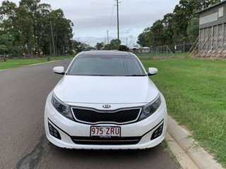 2014 Kia Optima TF MY14 Platinum White 6 Speed Automatic Sedan.