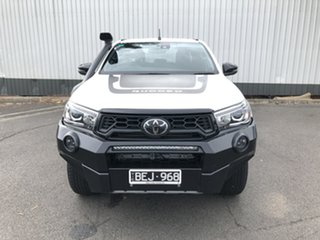 2019 Toyota Hilux GUN126R Rugged X Double Cab Crystal Pearl 6 Speed Sports Automatic Utility