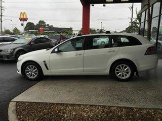2014 Holden Commodore VF Evoke White 6 Speed Automatic Sportswagon