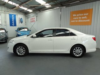 2011 Toyota Camry ACV40R Altise White 5 Speed Automatic Sedan