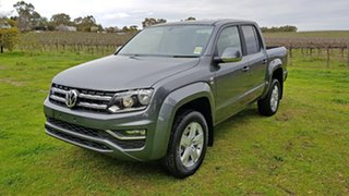 2020 Volkswagen Amarok 2H MY21 TDI550 4MOTION Perm Sportline Indium Grey 8 Speed Automatic Utility