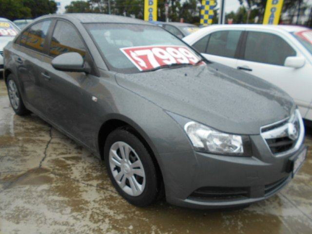 Used Holden Cruze JG CD Springwood, 2009 Holden Cruze JG CD Grey 5 Speed Manual Sedan