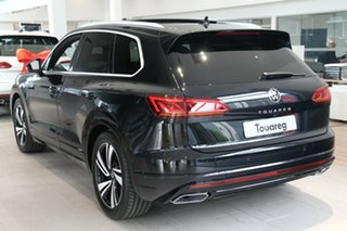 2020 Volkswagen Touareg CR MY21 210TDI Tiptronic 4MOTION R-Line Black 8 Speed Sports Automatic Wagon.