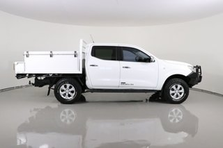 2015 Nissan Navara NP300 D23 RX (4x4) White 6 Speed Manual Double Cab Chassis