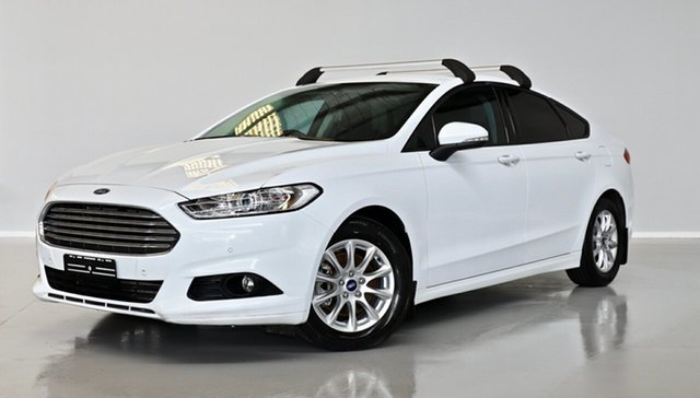 Used Ford Mondeo MD Ambiente Thomastown, 2016 Ford Mondeo MD Ambiente White 6 Speed Sports Automatic Dual Clutch Hatchback