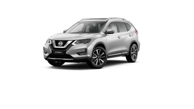 New Nissan X-Trail T32 MY21 Ti X-tronic 4WD Moorooka, 2020 Nissan X-Trail T32 MY21 Ti X-tronic 4WD Brilliant Silver 7 Speed Constant Variable Wagon