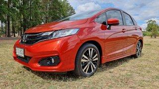 2019 Honda Jazz GF MY19 VTi-L Phoenix Orange/grey 1 Speed Constant Variable Hatchback