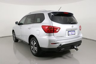 2018 Nissan Pathfinder R52 MY17 Series 2 ST (4x2) Silver Continuous Variable Wagon