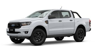 2021 Ford Ranger PX MkIII 2021.25MY Sport Arctic White 6 Speed Manual Double Cab Pick Up.