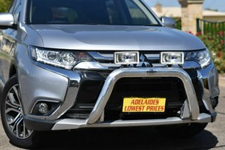 2016 Mitsubishi Outlander ZK MY16 XLS 2WD Silver 6 Speed Constant Variable Wagon