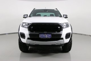 2020 Ford Ranger PX MkIII MY20.25 Wildtrak 3.2 (4x4) White 6 Speed Automatic Double Cab Pick Up.