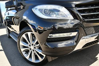 2013 Mercedes-Benz M-Class W166 ML350 BlueTEC 7G-Tronic + Black 7 Speed Sports Automatic Wagon.