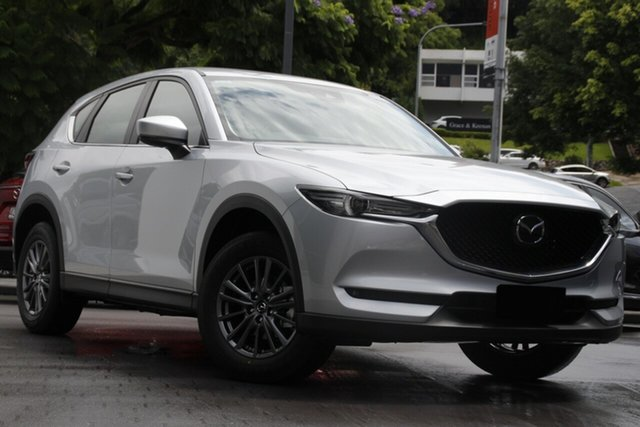 New Mazda CX-5 KF2W7A Maxx SKYACTIV-Drive FWD Sport North Rockhampton, 2021 Mazda CX-5 KF2W7A Maxx SKYACTIV-Drive FWD Sport Machine Grey 6 Speed Sports Automatic Wagon