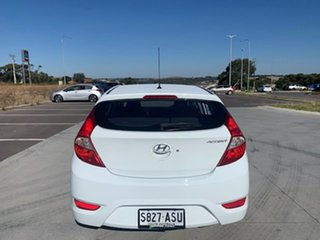 2012 Hyundai Accent RB Premium White 4 Speed Sports Automatic Hatchback