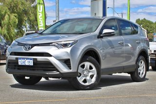 2017 Toyota RAV4 ASA44R GX AWD Silver 6 Speed Sports Automatic Wagon.