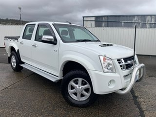 2009 Isuzu D-MAX MY09 LS-U White 4 Speed Automatic Utility.