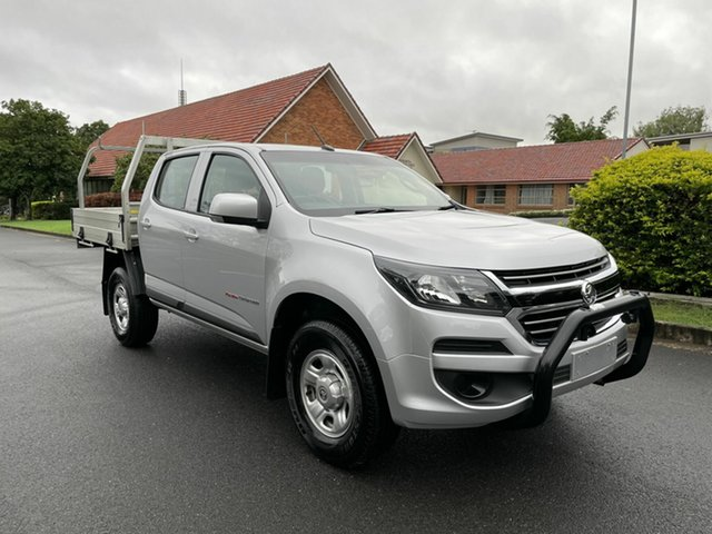 Used Holden Colorado RG LS Chermside, 2018 Holden Colorado RG LS Silver 6 Speed Automatic Dual Cab