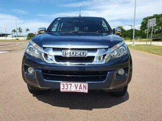 2014 Isuzu D-MAX MY14 LS-U Crew Cab Blue 5 Speed Sports Automatic Utility.