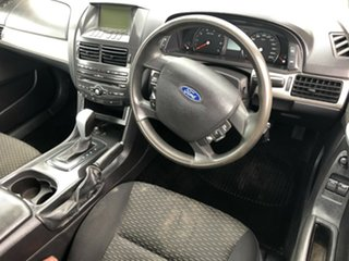 2010 Ford Falcon FG (LPG) White 4 Speed Auto Seq Sportshift Cab Chassis