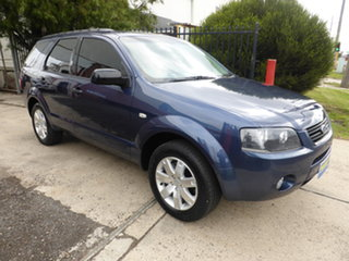2008 Ford Territory SY TX Blue 4 Speed Sports Automatic Wagon.