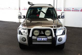 2012 Mitsubishi Pajero NW MY13 GLX-R LWB (4x4) Brown 5 Speed Auto Sports Mode Wagon.