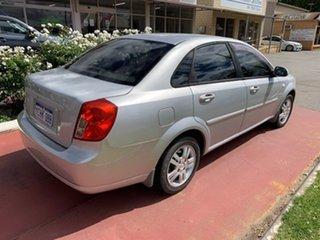 2006 Holden Viva JF 1.8 Silver 4 Speed Automatic Sedan.