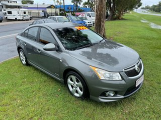 2011 Holden Cruze JH Series II MY11 SRi-V Grey 6 Speed Sports Automatic Sedan.