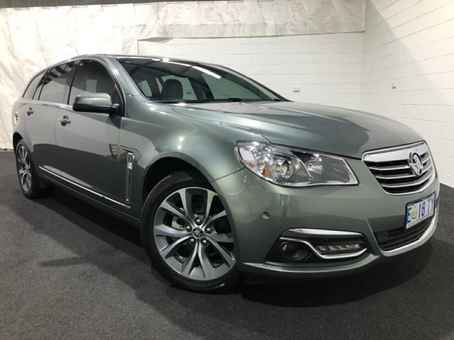 Used Holden Calais VF MY15 Sportwagon Glenorchy, 2015 Holden Calais VF MY15 Sportwagon Prussian Steel 6 Speed Sports Automatic Wagon