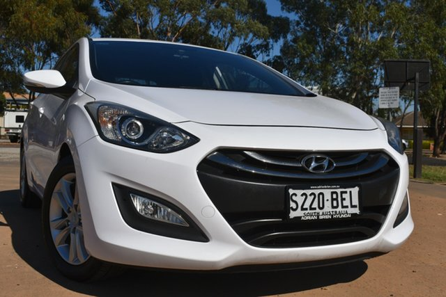 Used Hyundai i30 GD MY14 Elite St Marys, 2014 Hyundai i30 GD MY14 Elite White 6 Speed Sports Automatic Hatchback