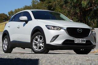 2016 Mazda CX-3 DK2W76 Maxx SKYACTIV-MT White 6 Speed Manual Wagon.