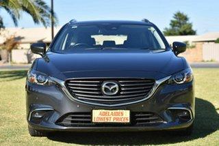 2017 Mazda 6 GL1031 Touring SKYACTIV-Drive Grey 6 Speed Sports Automatic Wagon.