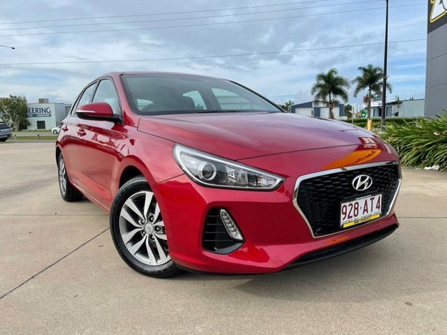 Used Hyundai i30 PD2 MY18 Active Townsville, 2018 Hyundai i30 PD2 MY18 Active Red/300618 6 Speed Sports Automatic Hatchback
