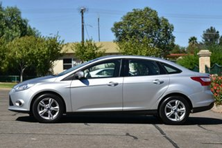2012 Ford Focus LW Trend PwrShift Silver 6 Speed Sports Automatic Dual Clutch Sedan