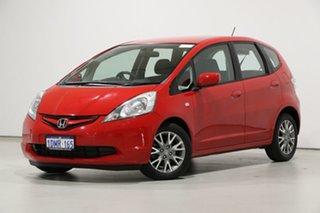 2010 Honda Jazz GE VTi Red 5 Speed Automatic Hatchback.