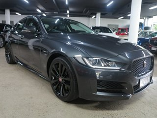 2016 Jaguar XE X760 MY17 R-Sport Grey 8 Speed Sports Automatic Sedan.